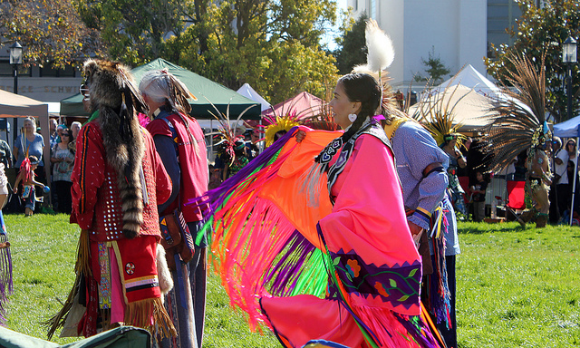 Berkeley, California has observed Indigenous People's Day since 1994. This year Seattle and Minneapolis have followed suit. (Quinn Dombrowski/Flickr/CC license)