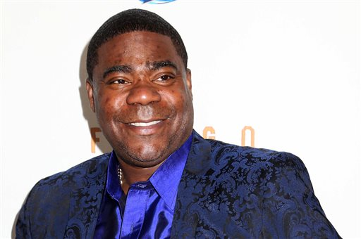 "In this April 9, 2014 file photo, actor Tracy Morgan attends the FX Networks Upfront premiere screening of ""Fargo"" at the SVA Theater in New York. Wal-Mart says actor-comedian Morgan and other people in a vehicle struck from behind by a company truck on a New Jersey highway in June weren't wearing seatbelts. Wal-Mart's filing was made Monday, Sept. 29, 2014, in federal court in response to a lawsuit Morgan filed in July. (Photo by Greg Allen/Invision/AP, File)"