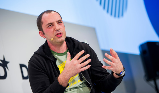 Jan Koum, co-founder and chief executive officer of WhatsApp Inc. (Marc Müller/DPA via AP Images)