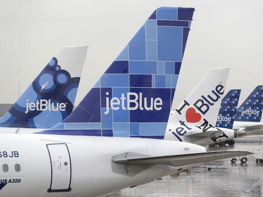 JetBlue planes at New York JFK Airport on Nov. 27, 2013. (Photo: Seth Wenig, AP)