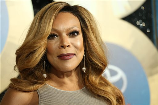 """In this Nov. 7, 2014 file photo, TV talk show host Wendy Williams arrives during the 2014 Soul Train Awards at the Orleans Arena at The Orleans Hotel & Casino in Las Vegas, Nev. Williams, host of her talk show """"The Wendy Williams Show,"""" also produced the Lifetime TV film, """"Aaliyah: The Princess of R&B."""" (Photo by Omar Vega/Invision/AP, File)"""
