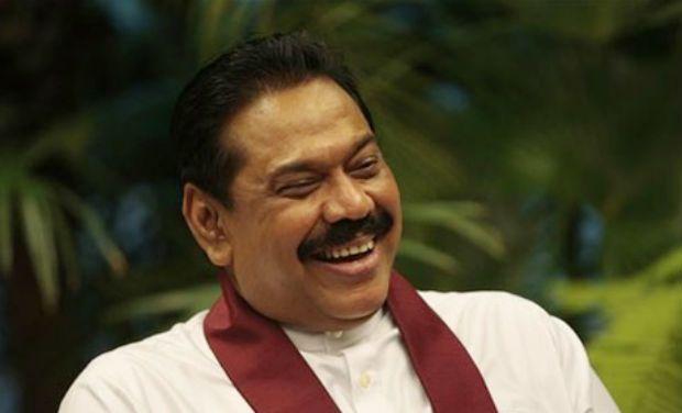Sri Lanka President Mahinda Rajapaksa (AP Photo)