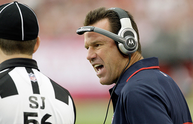 Gary Kubiak is signing on as the Denver Broncos' head coach. (Ross D. Franklin/AP Photo)