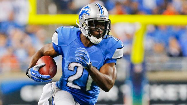 Detroit Lions running back Reggie Bush returned from a knee injury to scorch the Chicago Bears. (AP Photo)