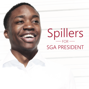 (Courtesy Elliot Spillers for SGA President Facebook Page)