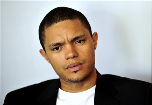 """In this photo taken Oct. 27 2009 South African comedian Trevor Noah is photographed during an interview. Trevor Noah, a 31-year-old comedian from South Africa who has contributed to """"The Daily Show"""" a handful of times during the past year, will become Jon Stewart's replacement as host, Comedy Central announced Monday March 30, 2015. Noah was chosen a little more than a month after Stewart unexpectedly announced he was leaving """"The Daily Show"""" following 16 years as the show's principal voice. (AP Photo/Bongiwe Mchunu-The Star)"""