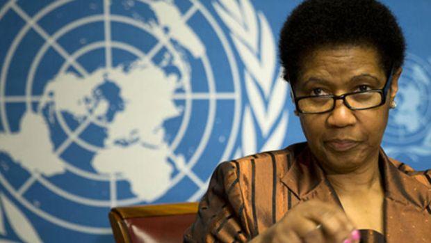 Phumzile Mlambo-Ngcuka, executive director of UN Women (AP Photo)