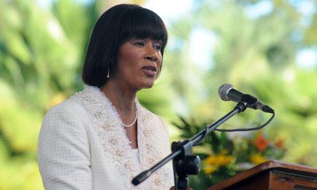 Jamaica Prime Minister Portia Simpson-Miller (Collin Reid/AP Photo)
