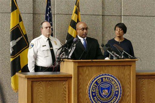 Suspect Injured Baltimore