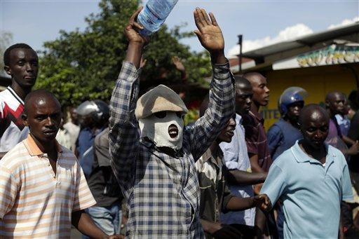 APTOPIX Burundi Political Tensions