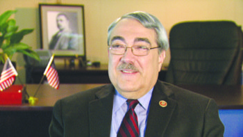 Congressional Black Caucus Chair G.K. Butterfield said Republicans must help Democrats fight poverty in African-American communities. (Courtesy of PBS)