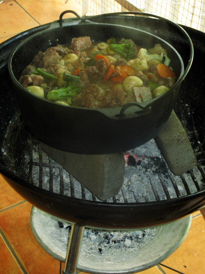 Potjiekos, a stew (Borisgorelik/CC BY-SA 3.0)