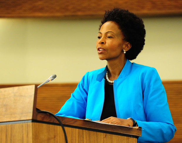 Minister of Department of International Relations and Cooperation Maite Nkoana-Mashabane will co-chair the AU summit's Permanent Representatives Committee. (GovernmentZA/Flickr/CC BY-ND 2.0)