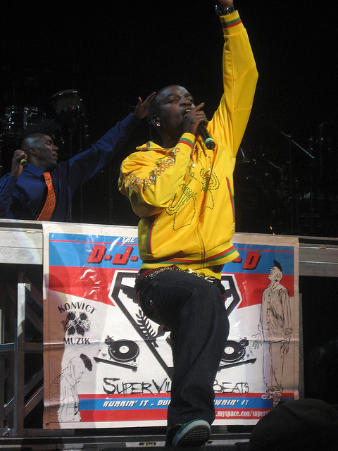 Akon (PeterCruise/Flickr/CC BY 2.0)