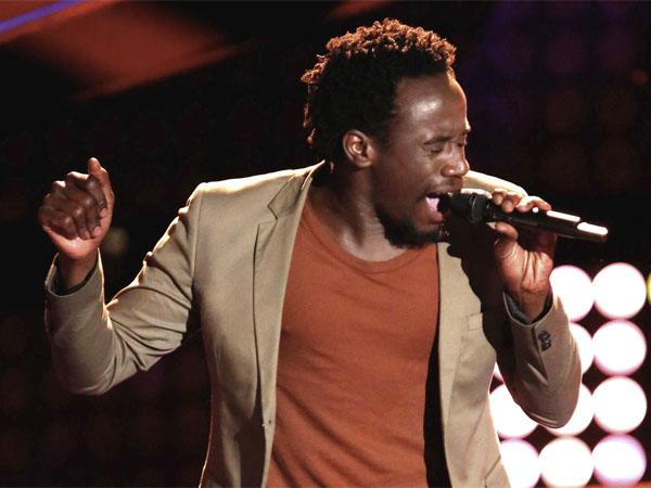 Anthony Riley appears on 'The Voice.' (Courtesy of NBC)