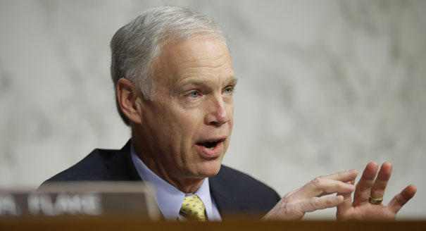Sen. Ron Johnson (R-WI) (AP Photo)