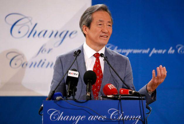 FIFA vice-president Chung Mong-joon of South Korea (Francois Mori/AP Photo)