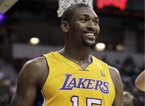 Los Angeles Lakers Rumors  Metta World Peace To Sign With Lakers  83d3706c3