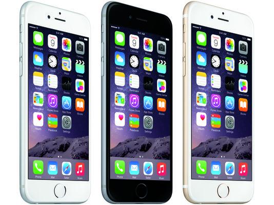 The Apple iPhone 6 Plus. (Apple Photo)