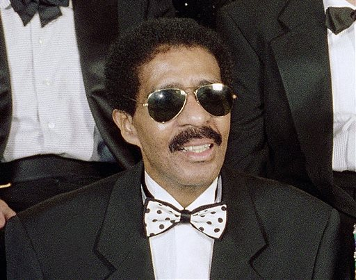 """In this Aug. 29, 1994 file photo, Richard Pryor appears at the taping of NBC's second annual """"Comedy Hall of Fame"""" in Beverly Hills, Calif. The Apollo Theater in Harlem will induct comics Richard Pryor, Moms Mabley and Redd Foxx into its walk of fame. The legendary comedians will be inducted during a special ceremony on Oct. 1. (AP Photo/Reed Saxon, File)"""
