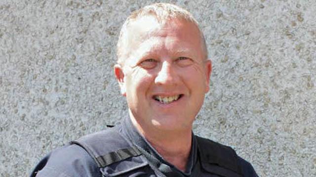 Clatskanie Police Chief Marvin Hoover