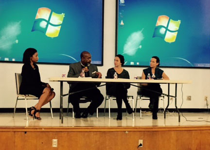 The Greater Austin Black Chamber of Commerce hosted a panel discussion on climate change. (Greater Austin Black Chamber of Commerce)