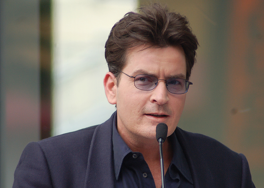 Charlie Sheen confirmed on the Today Show that he tested positive for HIV four years ago. This photo was taken in March 2009. (Angela George/Flickr/CC)