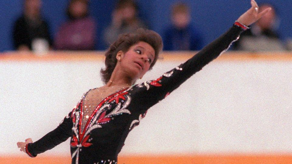 Former Olympic figure skater and physician Debi Thomas was the first African-American athlete to win a medal at the Winter Games.