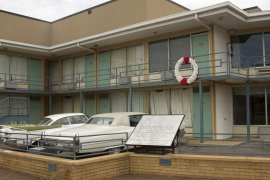 The site of Martin Luther King Jr.'s assassination. (Yahoo/Thinkstock)