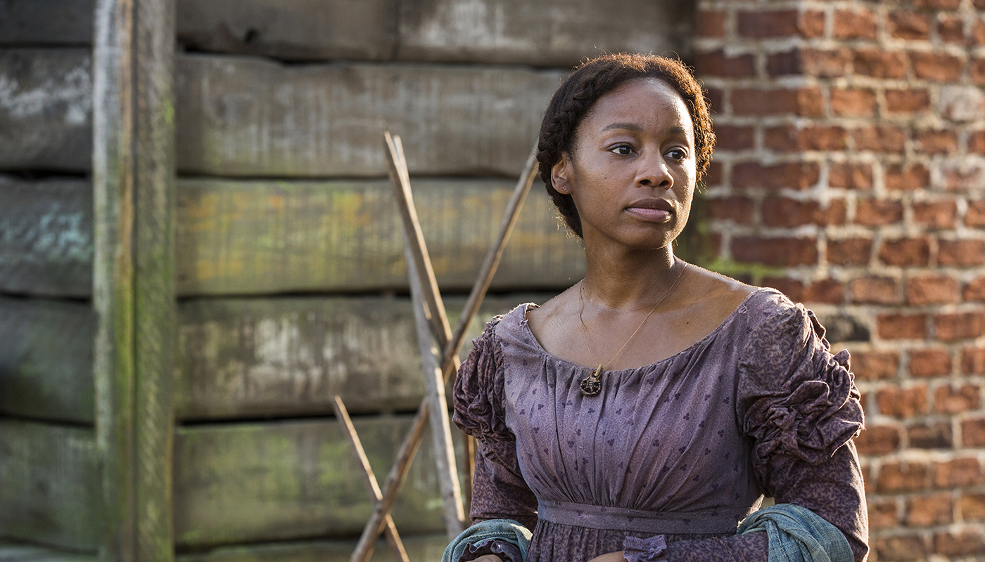 """Anika Noni Rose stars as Kizzy in the """"Roots"""" remake airing on The History Channel. (The History Channel)"""