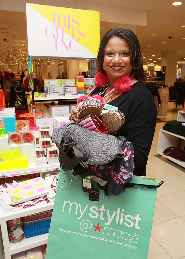 Candice Ward, the District Regional Director for My Stylist at Macy's Herald Square, the retailer's iconic New York City flagship in New York. (Donald Traill/AP Images for Macy's)