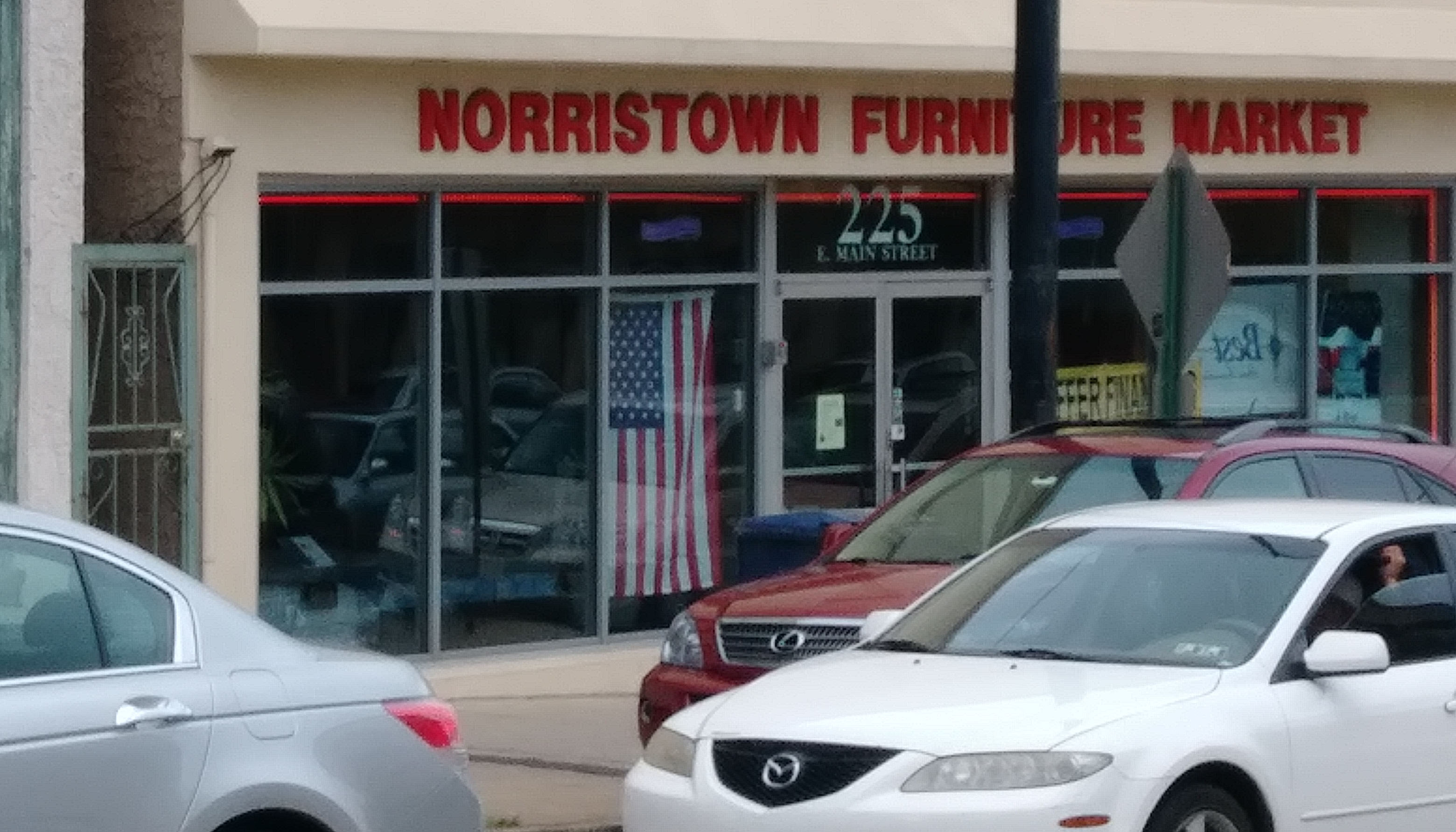 Furniture store in Norristown, Pa. (Stacy Brown/NNPA)