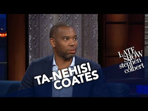 Colbert Asked Ta-Nehisi Coates If He Had Hope for Better Race Relations in America. He Said No.