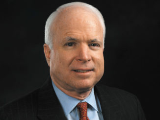 John McCain, the venerable Republican senator and war hero who was a fixture on Capitol Hill for decades.