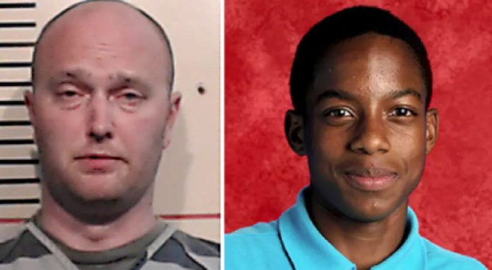 Roy Oliver (left) was indicted by a grand jury for themurderof Jordan Edwards