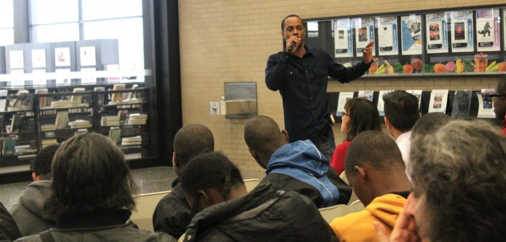 Lamont Cary turns his life around and gives back through literature and motivational speaking. Photo Credit: Courtesy of LaCarey Entereprises