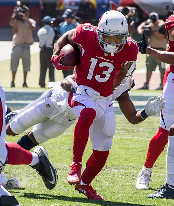 Arizona Cardinals wide receiver Christian Kirk (13) (Robert Torrence/L.A. Sentinel)