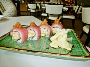 Miku Restaurant Sushi (Photo by Dwight Brown)