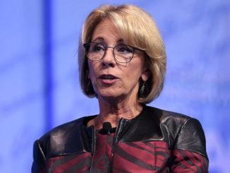 Education Secretary, Betsy DeVos