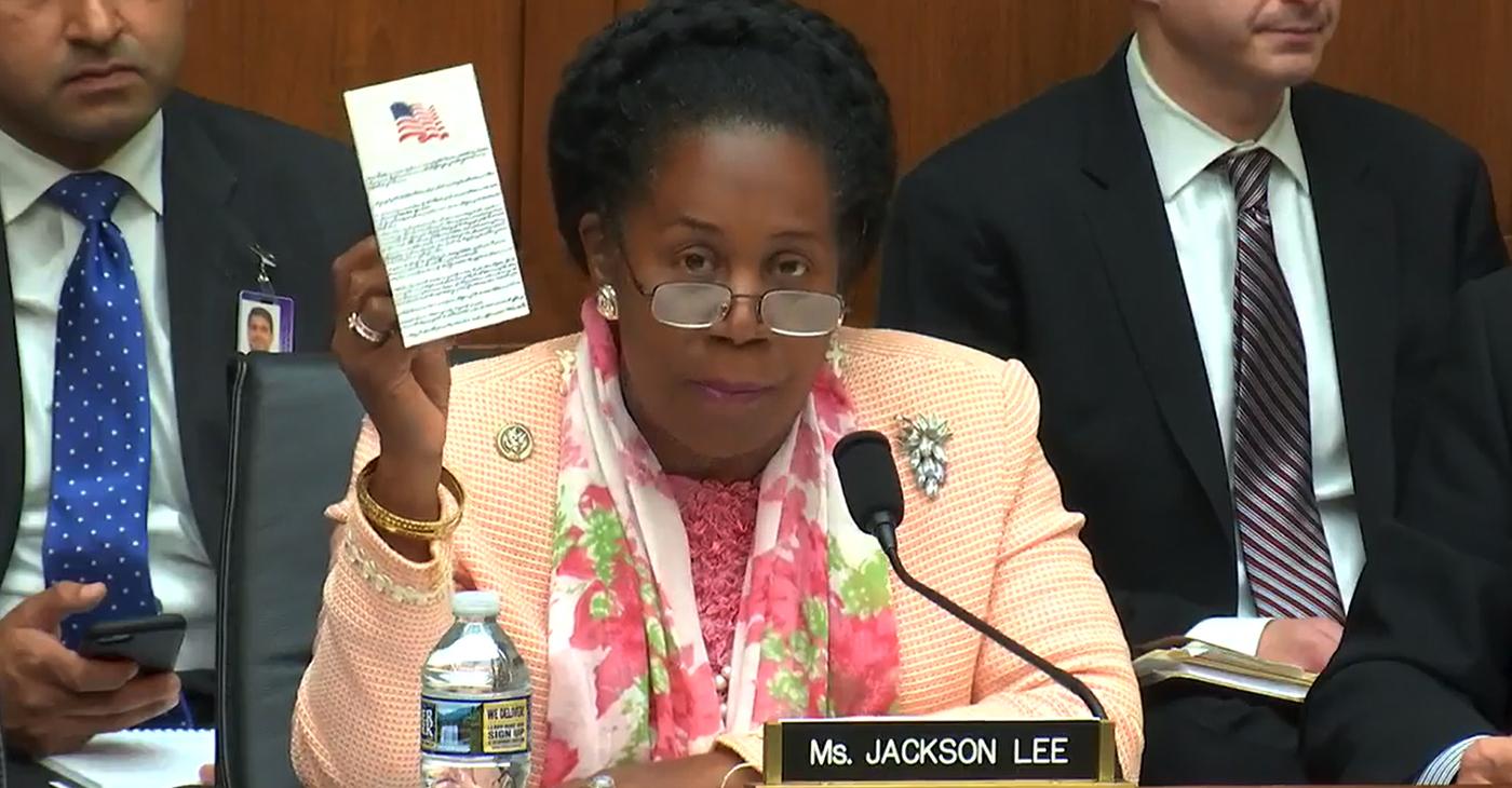 Photo: Courtesy Office of Rep. Shelia Jackson Lee