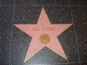 Bill Cosby's star on the Hollywood Walk of Fame/Wiki Commons
