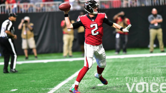 Falcons' quarterback Matt Ryan