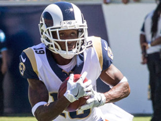 os Angeles Rams wide receiver Jojo Matson (19)