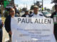 Activist in Seattle held a protest on Monday calling for the NFL and Seahawks owner Paul Allen to deposit 10 percent of all revenue and one-third of the moeny for players pensions into Black-owned banks.