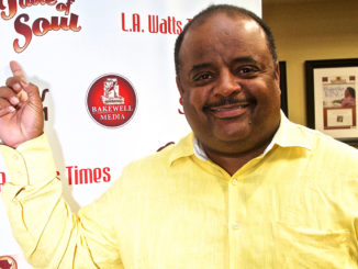 Award-winning journalist Roland S. Martin will host the Taste of Soul Hyundai Stage on October 20. (Photo by Mesiyah McGinnis/ L.A. Sentinel)