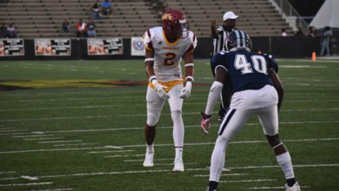Tuskegee wide receiver Javarrius Cheatham had a big game last week with two touchdown passes and totaling 105 yards in a victory for the Golden Tigers won.