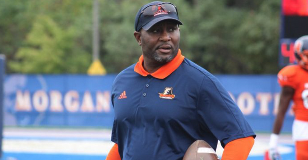 Morgan State University Interim Coach Ernest Jones (Courtesy Photo/Twitter.com @MorganStBears)