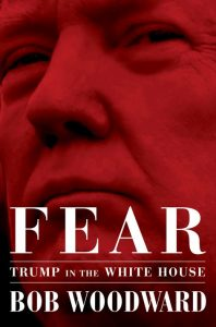 The newly released book 'Fear' by Bob Woodward about the Trump administration has hit store shelves.