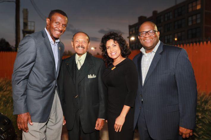 Dwane Casey, O'Neil and Linda Swanson, and Hiram E. Jackson.