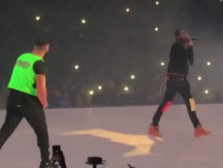 BEEF SQUASHED Drake brings out Meek Mill in Boston (Screen capture – YouTube video)